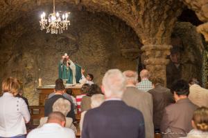 Messe à la grotte