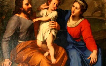 «Levieux La sainte famille» par Reynaud Levieux — Travail personnel. Sous licence CC BY-SA 3.0 via Wikimedia Commons - http://commons.wikimedia.org/wiki/File:Levieux_La_sainte_famille.jpg#/media/File:Levieux_La_sainte_famille.jpg