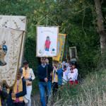 Saint Joseph en procession avec Sainte Anne