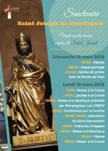 24h pour Saint Joseph