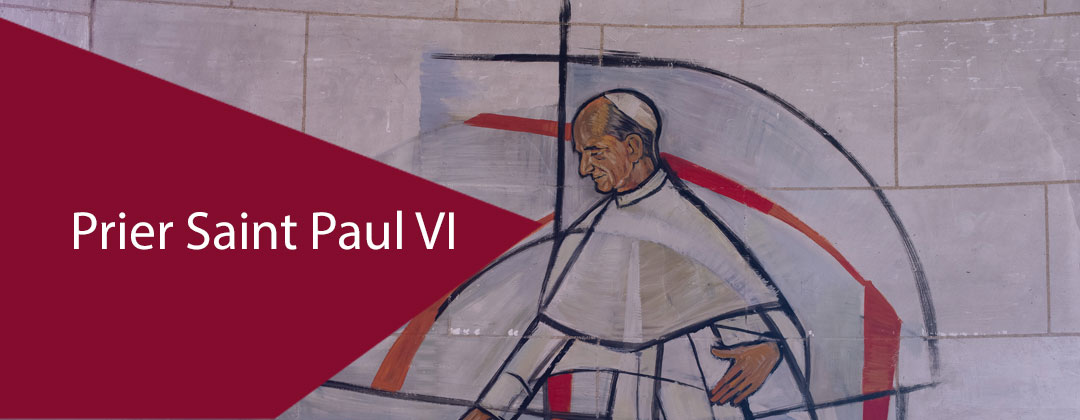 Prier Saint Paul VI